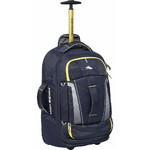 High Sierra Composite V3 Small/Cabin 56cm Wheeled Duffel with Backpack Straps Navy 87274