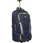 High Sierra Composite V3 Medium 73cm Wheeled Duffel with Backpack Straps Navy 87275