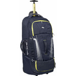 High Sierra Composite V3 Large 84cm Wheeled Duffel with Backpack Straps Navy 87276
