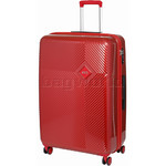 Samsonite Red Kharris Large 76cm Hardside Suitcase Red 91479