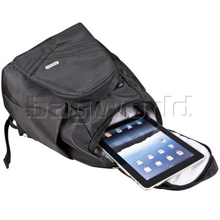 Details about Travelon Classic Anti Theft Tablet Backpack Black 42310