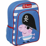 Peppa Pig George Pig Pirate Backpack Blue PP15