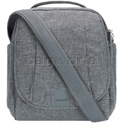 Pacsafe Metrosafe LS200 Anti-Theft Tablet Shoulder Bag Tweed 30420