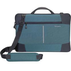 "Targus Bex II 15-15.6"" Laptop Sleeve Stone Blue SS954"