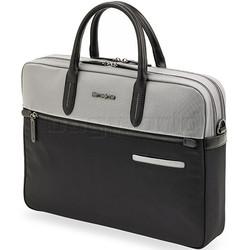 "Samsonite Divinal RFID Blocking 15.6"" Laptop & Tablet Briefcase Silver 87431"