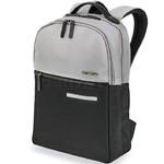 "Samsonite Divinal RFID Blocking 14.1"" Laptop & Tablet Backpack Silver 87432"