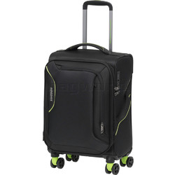 American Tourister Applite 3.0S Small/Cabin 55cm Softside Suitcase Black 91972