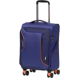 American Tourister Applite 3.0S Small/Cabin 55cm Softside Suitcase Bodega Blue 91972