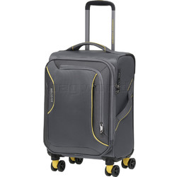 American Tourister Applite 3.0S Small/Cabin 55cm Softside Suitcase Lightning Grey 91972