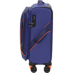 American Tourister Applite 3.0S Small/Cabin 55cm Softside Suitcase Bodega Blue 91972 - 2