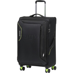 American Tourister Applite 3.0S Medium 71cm Softside Suitcase Black 91973