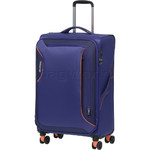 American Tourister Applite 3.0S Medium 71cm Softside Suitcase Bodega Blue 91973