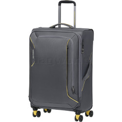 American Tourister Applite 3.0S Medium 71cm Softside Suitcase Lightning Grey 91973