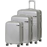 American Tourister Dartz Hardside Suitcase Set of 3 Aluminium 87023, 87024, 87067 with FREE Samsonite Luggage Scale 34042