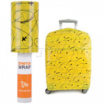 Travelon Travel Accessories Stretch Wrap Roll Luggage Wrap Yellow 13090