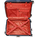 Qantas Blackall Small/Cabin 58cm Hardside Suitcase Navy 89058 - 3
