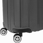 Qantas Blackall Medium 68cm Hardside Suitcase Silver 89068 - 5