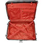 Qantas Blackall Large 79cm Hardside Suitcase Silver 89079 - 3