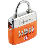 GO Travel TSA Birthday Lock Orange GO355