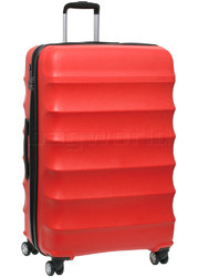 Antler Juno Large 79cm Hardside Suitcase Red 34922
