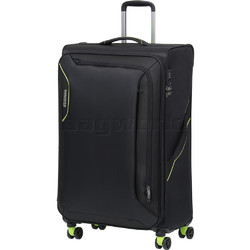 American Tourister Applite 3.0S Large 82cm Softside Suitcase Black 91974