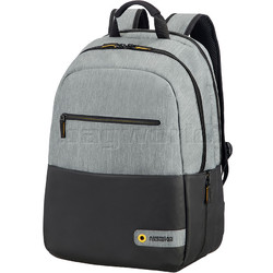 """American Tourister City Drift 15.6"""" Laptop & Tablet Backpack Grey 80527"""