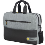 "American Tourister City Drift 15.6"" Laptop & Tablet Briefcase Grey 80531"