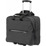 "Samsonite Youthy-ICT 15.6"" Laptop & Tablet Rolling Tote Grey 92166"