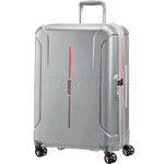 American Tourister Technum Medium 68cm Hardside Suitcase Aluminium 89303