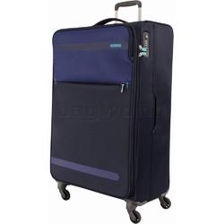 American Tourister Herolite Large 81cm Softside Suitcase Midnight Blue 93012
