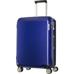 Samsonite Arq Medium 69cm Hardside Suitcase Cobalt Blue 91060