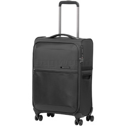 Samsonite 72 Hours Deluxe Small/Cabin 55cm Softside Suitcase Platinum Grey 92326