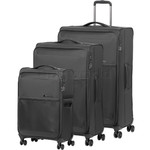 Samsonite 72 Hours Deluxe Softside Suitcase Set of 3 Platinum Grey 92328, 92327, 92326 with FREE Samsonite Luggage Scale 34042