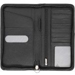 Vault Fullgrain RFID Blocking Leather Passport Wallet Black VP001 - 2