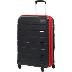 Qantas Brisbane Medium 66cm Hardside Suitcase Black 78068