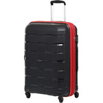 Qantas Brisbane Medium 66cm Hardside Suitcase Black 78068