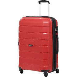 Qantas Brisbane Medium 66cm Hardside Suitcase Red 78068
