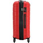 Qantas Brisbane Medium 66cm Hardside Suitcase Red 78068 - 2