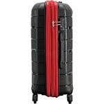 Qantas Brisbane Medium 66cm Hardside Suitcase Black 78068 - 2