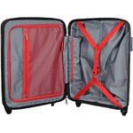 Qantas Brisbane Small/Cabin 54cm Hardside Suitcase Red 78056 - 3