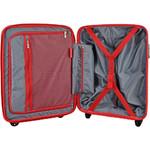 Qantas Brisbane Small/Cabin 54cm Hardside Suitcase Black 78056 - 3