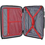 Qantas Brisbane Medium 66cm Hardside Suitcase Red 78068 - 3