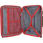 Qantas Brisbane Medium 66cm Hardside Suitcase Black 78068 - 3