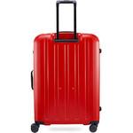 Lojel Lucid 2 Hardside Suitcase Set of 3 Red JLT54, JLT70, JLT79 with FREE Lojel Luggage Scale OCS27 - 1
