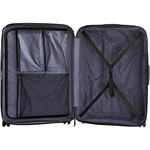 Lojel Lucid 2 Hardside Suitcase Set of 3 Black JLT54, JLT70, JLT79 with FREE Lojel Luggage Scale OCS27 - 5