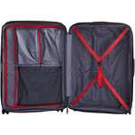 Lojel Lucid 2 Hardside Suitcase Set of 3 Red JLT54, JLT70, JLT79 with FREE Lojel Luggage Scale OCS27 - 5