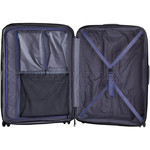 Lojel Lucid 2 Hardside Suitcase Set of 3 Navy JLT54, JLT70, JLT79 with FREE Lojel Luggage Scale OCS27 - 5