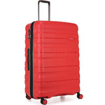 Antler Juno 2 Large 80cm Hardside Suitcase Red 42215