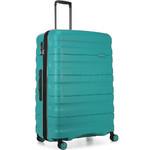 Antler Juno 2 Large 80cm Hardside Suitcase Teal 42215