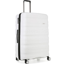 Antler Juno 2 Large 80cm Hardside Suitcase White 42215